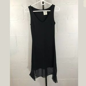 Gianfranco Ferre Jeans Fitted Black Dress Italy